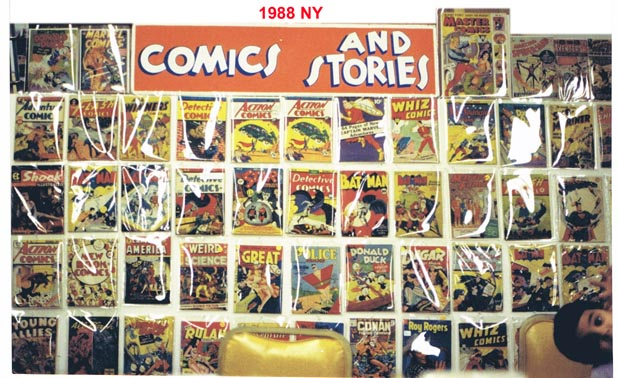 Comics And Stories in 1988